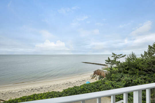 Oceans Views from the balcony - 405 Old Wharf Road-Dennisport Cape Cod- New England Vacation Rentals