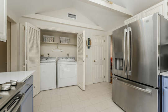 Laundry area is just off the kitchen 80 Lienau Dr Chatham Ma - Cape Cod- New England Vacation Rentals