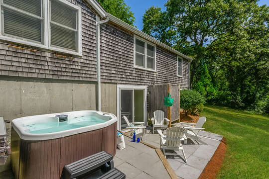 Relax in the hot tub after a long day on Cape Cod!- 80 Lienau Dr Chatham Ma - Cape Cod- New England Vacation Rentals