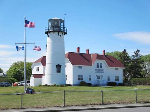 The famous Chatham Light House- Chatham Ma - Cape Cod