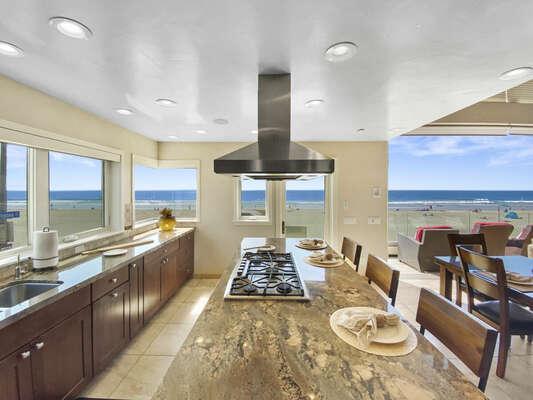 Stunning Views from Kitchen - Second Floor