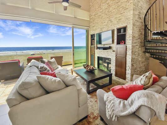 Stunning Views from Living Room - Second Floor