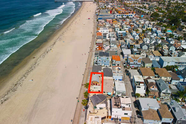 Unmatched Oceanfront Location