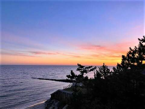 Sunset Oceans Views from the balcony - 405 Old Wharf Road-Dennisport Cape Cod- New England Vacation Rentals
