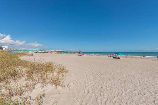 Beautiful white beachy sand