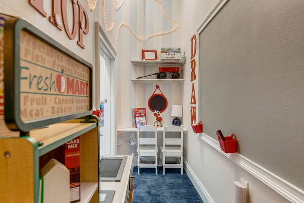 Every child will find the fun for them in this playroom!