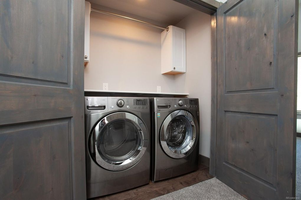 Full size washer and dryer!