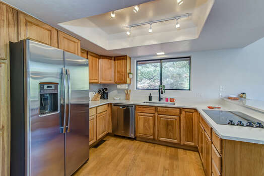 Fully Equipped Kitchen with Plenty of Counter Space