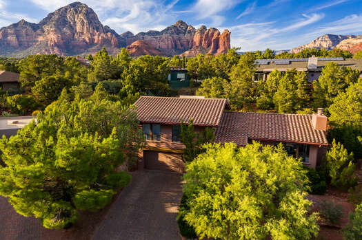 Located in West Sedona and Surrounded by Red Rock Vistas