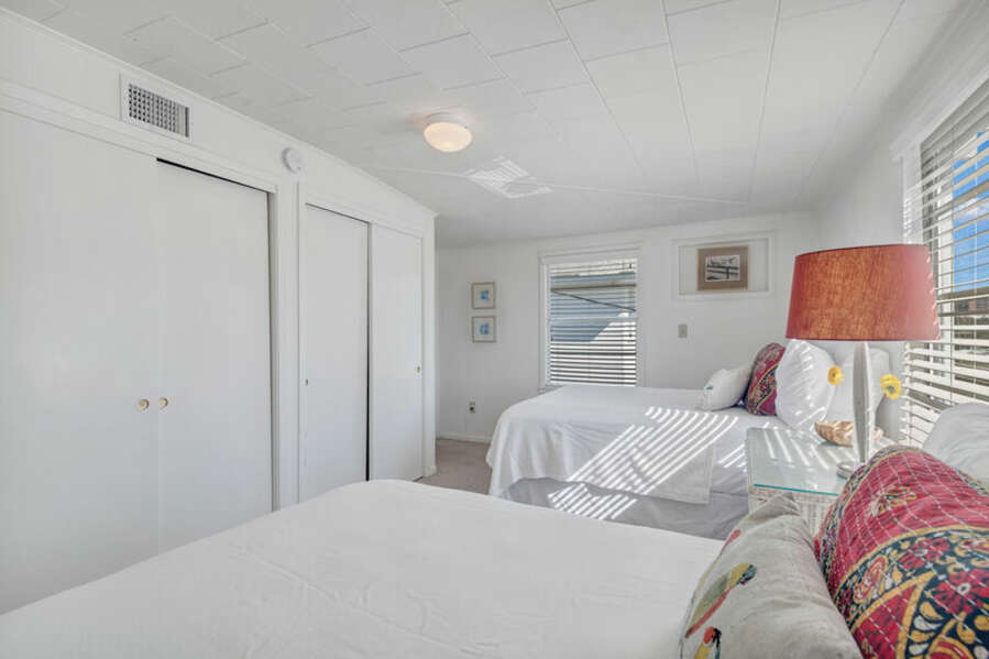Guest Bedroom with 2 Full Size Beds