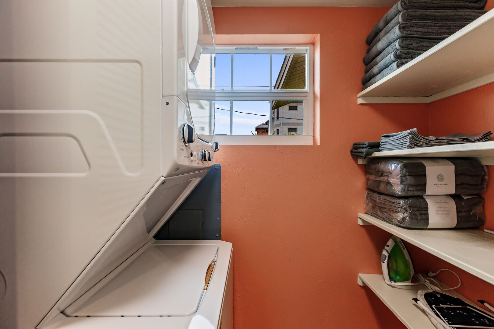 Laundry and Utility Room in Beach Paradise