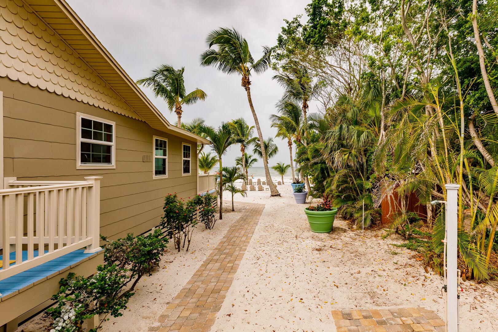 Walkway Around Beach Paradise Rental