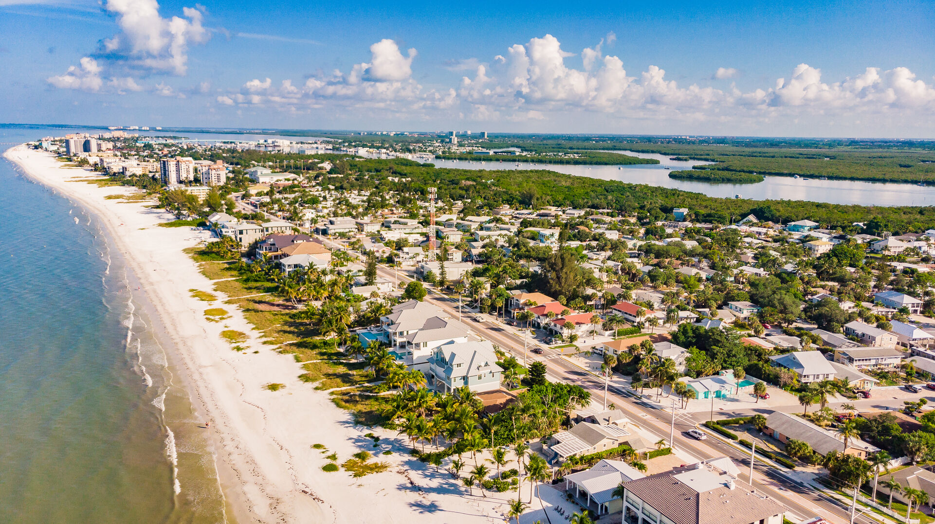 Gorgeous View of City Private Beach House Rental in Florida