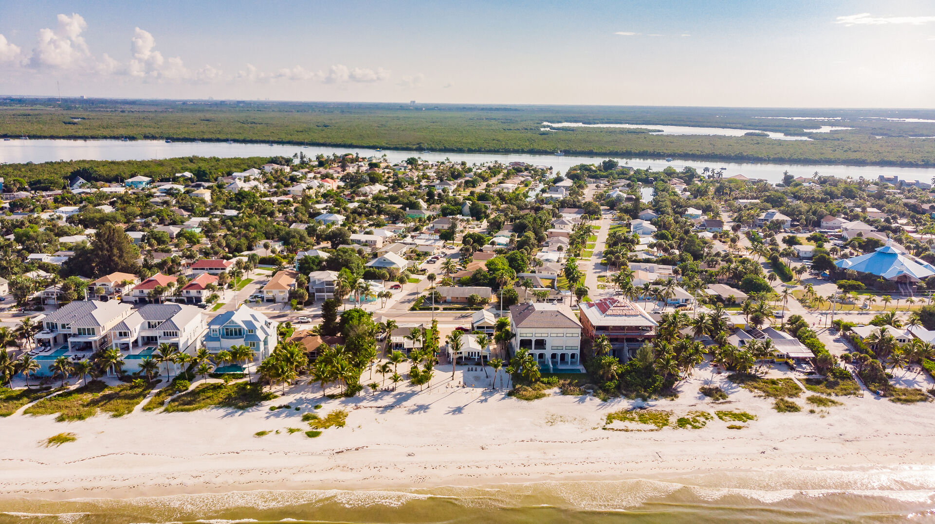 Private Beach House Rental in Florida View From the Sky