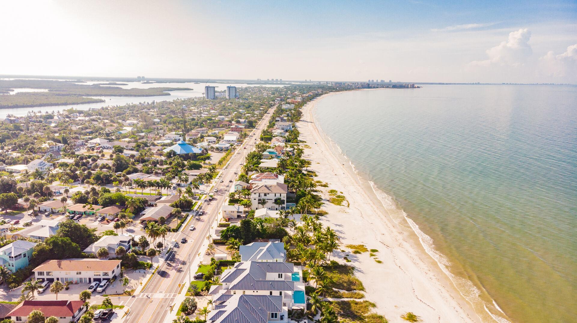 Gorgeous View of Coast Above Beach Paradise Rental