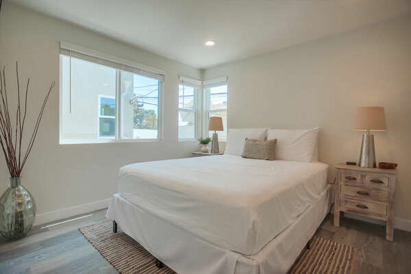 Second Floor Guest Bedroom with Queen Bed