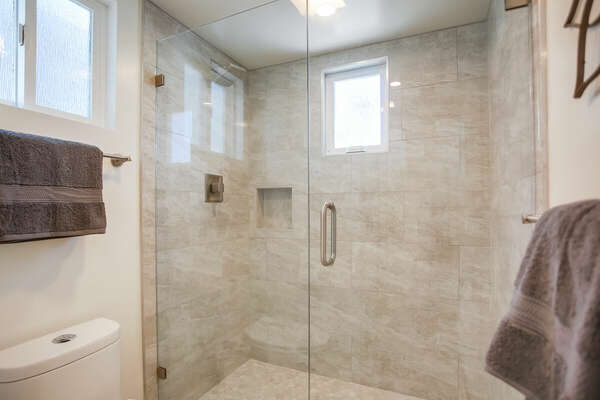 Second Floor Master En-Suite Bath with Walk-In Shower