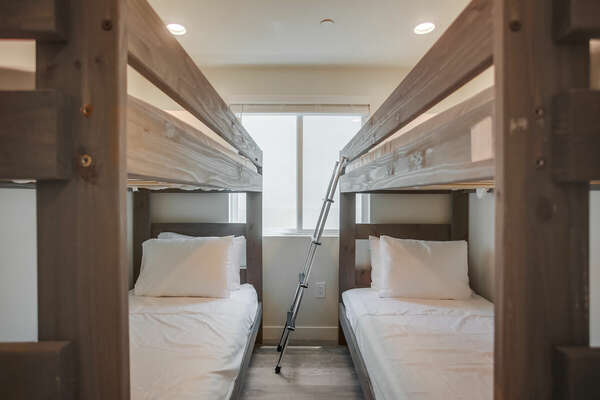 Second Floor Bunk Room with two Twin/Twin Bunk Beds