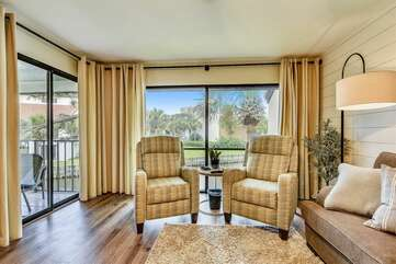Living Room with to Chairs