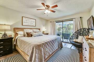 King Size master suite