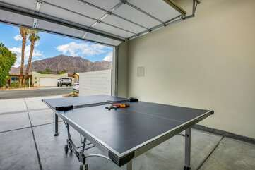 Ping-pong anyone? Create a challenge board and let the whole group participate in the fun!