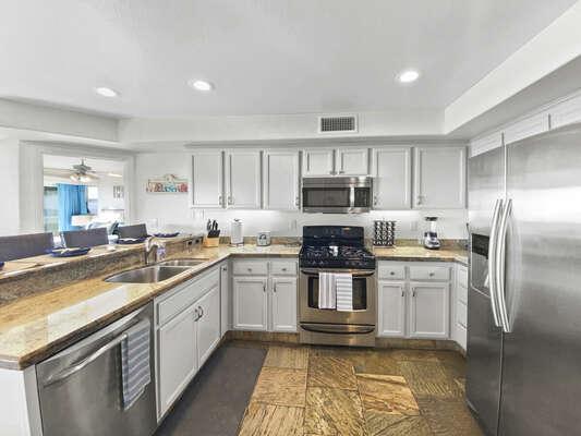 Kitchen - Fully Stocked