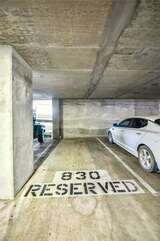 Reserved parking space, same floor as the unit (8th)