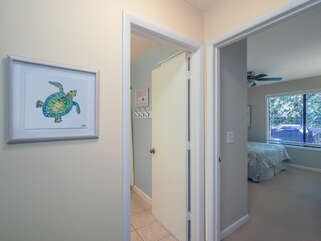 Entrance to 2nd guest room