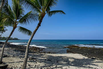 Located nearby Pahoehoe Beach Park