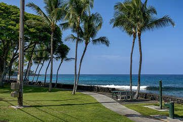 Walking distance to Pahoehoe Beach Park