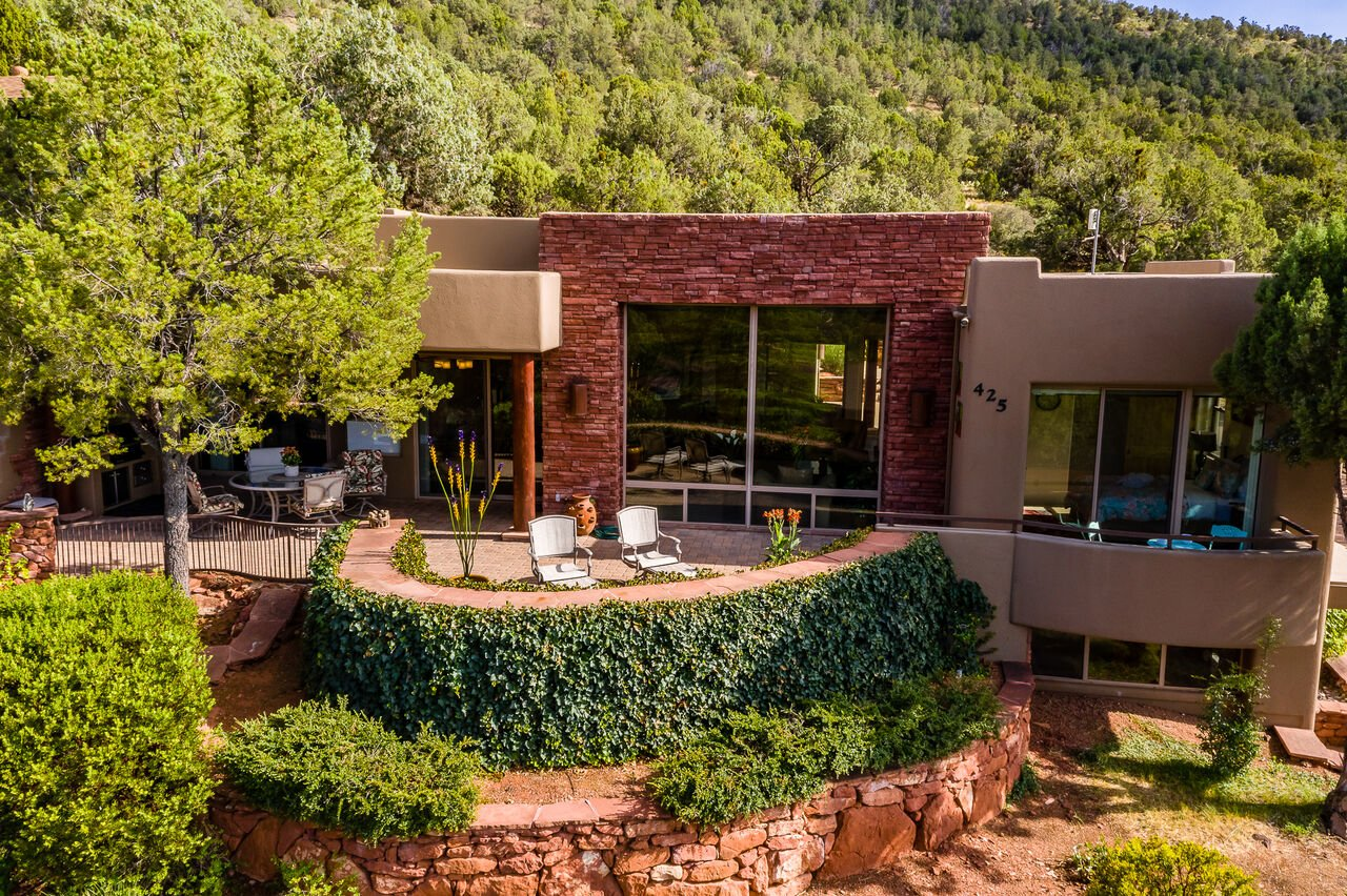 Spacious Back Patio to Enjoy the Fresh Air and Red Rock Views. Hot Tub Added