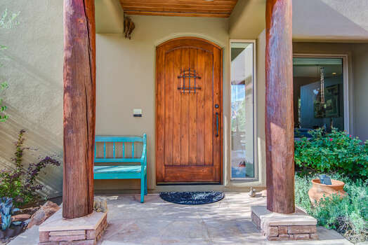 Front Entry into this Fabulous Home