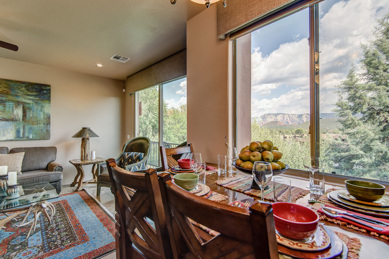 Large Windows Bring in the Natural Light and Views