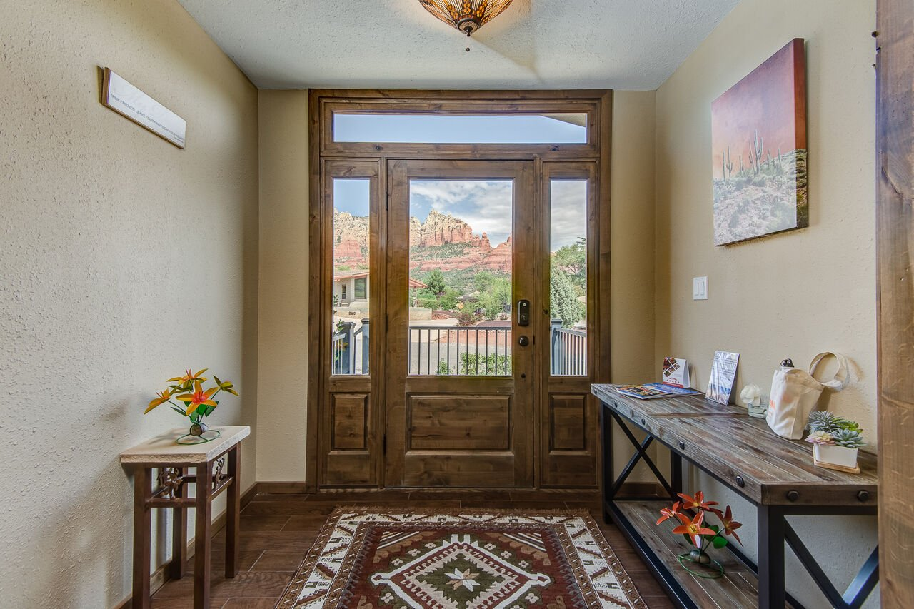 Views from the Front Entryway