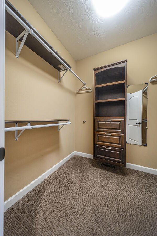 Master Closet with Lots of Room