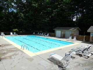 Sapphire Valley Amenities: Outside Lap Pool