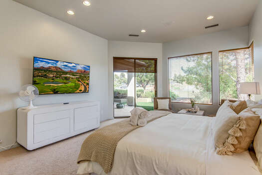 Grand Master Bedroom with a King Bed, 55