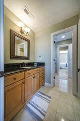 Jack -n -Jill  Large Bathroom off  2 Upper Bedrooms