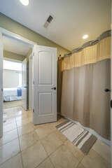 Large Bath/ Shower in Jack -n Jill Upper Bathroom