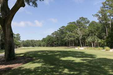 The house is located at the 7th. tee of Crooked Oaks