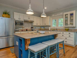 Fantastic fully equipped kitchen.