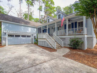 Low country beauty with a porch for enjoying.