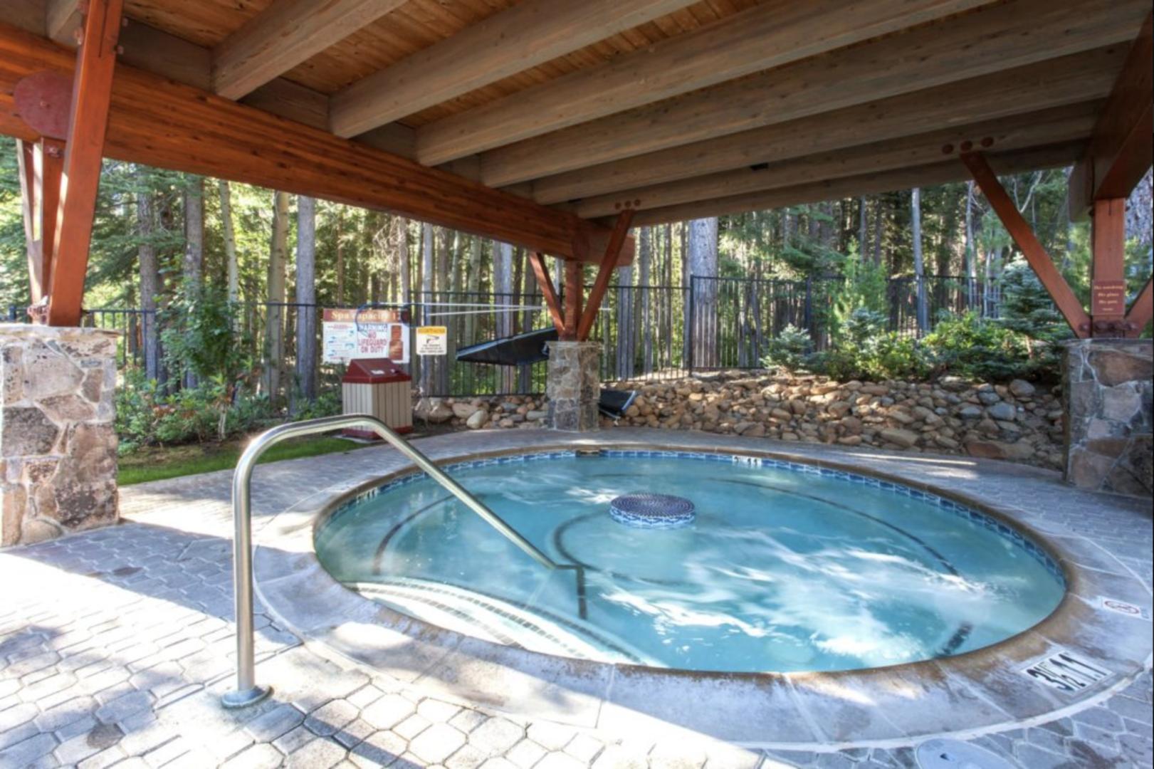 NPOA Covered Hot Tub