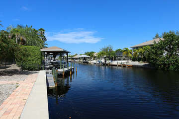 Boat Access Canal to Gulf of Mexico