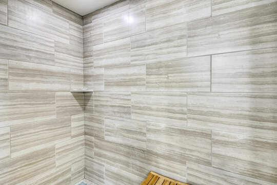 Upper Level Master Bedroom En Suite Bath w/ shower