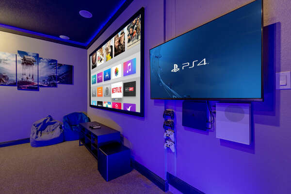 Log-in to your favorite games to play on the PS4 and or Xbox One
