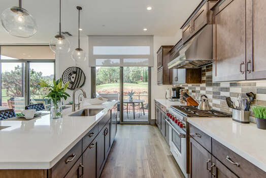 Plenty of Counter Space for Meal Prep and Entertaining