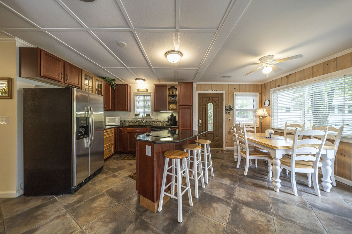 Large Dining and Kitchen - Main Level