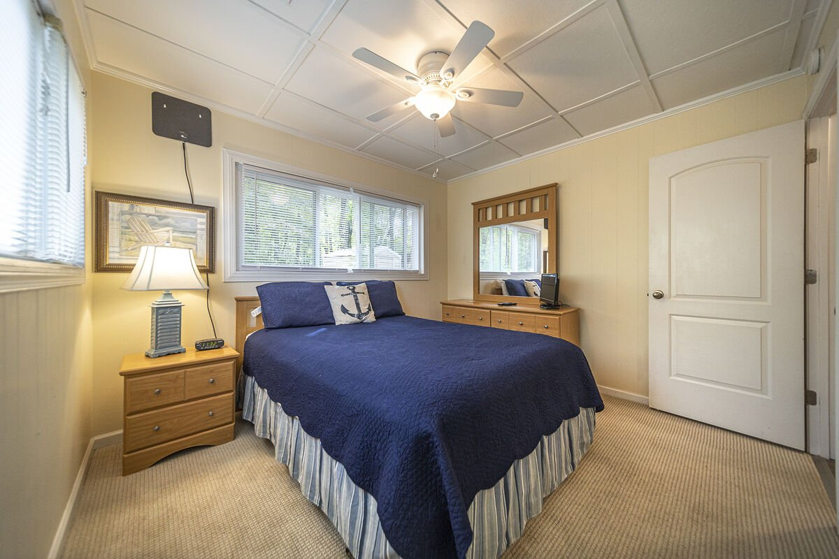 Main Level Bedroom with TV