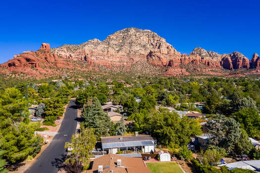 Surrounded by Stunning Sedona Scenery